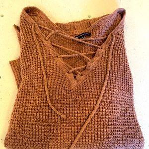 American Eagle Brown Sweater